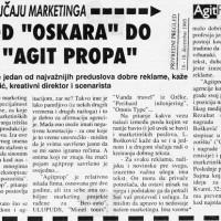 """Od """"Oskara"""" do """"Agitpropa"""""""