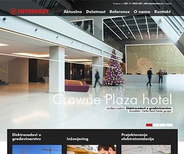 Internet sajt www.interfast.rs
