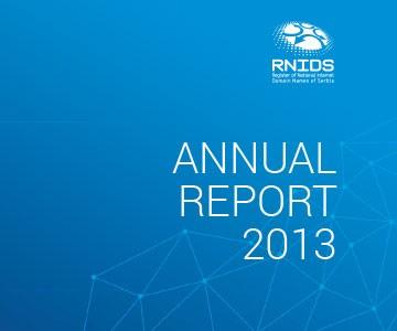 RNIDS – Godišnji izveštaji