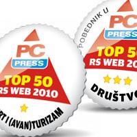 TOS.rs i Beograd.rs među 50 najboljih srpskih sajtova