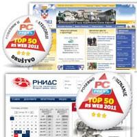 Naša dva sajta među Top 50 RS Web 2011.