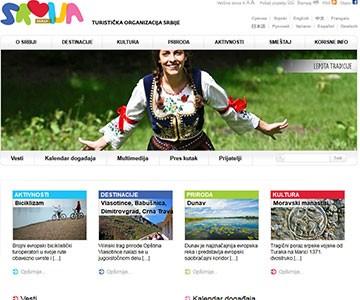 Internet sajt www.tos.rs