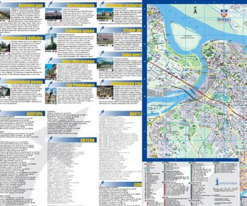 Turistička mapa Beograda