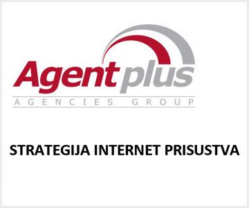 Strategija internet prisustva – Agent plus